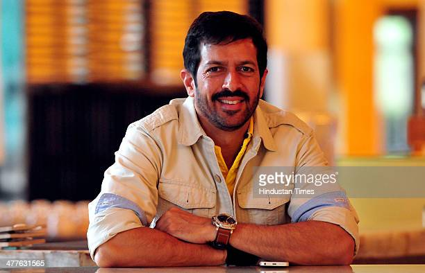 Bollywood Director Kabir Khan during an interview on March 10 2014 in Chandigarh India