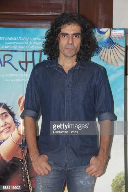 Bollywood filmmaker Imtiaz Ali during the media interaction of film Dear Maya at Andheri on May 22 2017 in Mumbai India