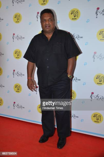 Bollywood filmmaker Sanjay Gupta during the premiere of film La La Land at the Jio MAMI Film Club at Le Reve Bandra on March 31 2017 in Mumbai India