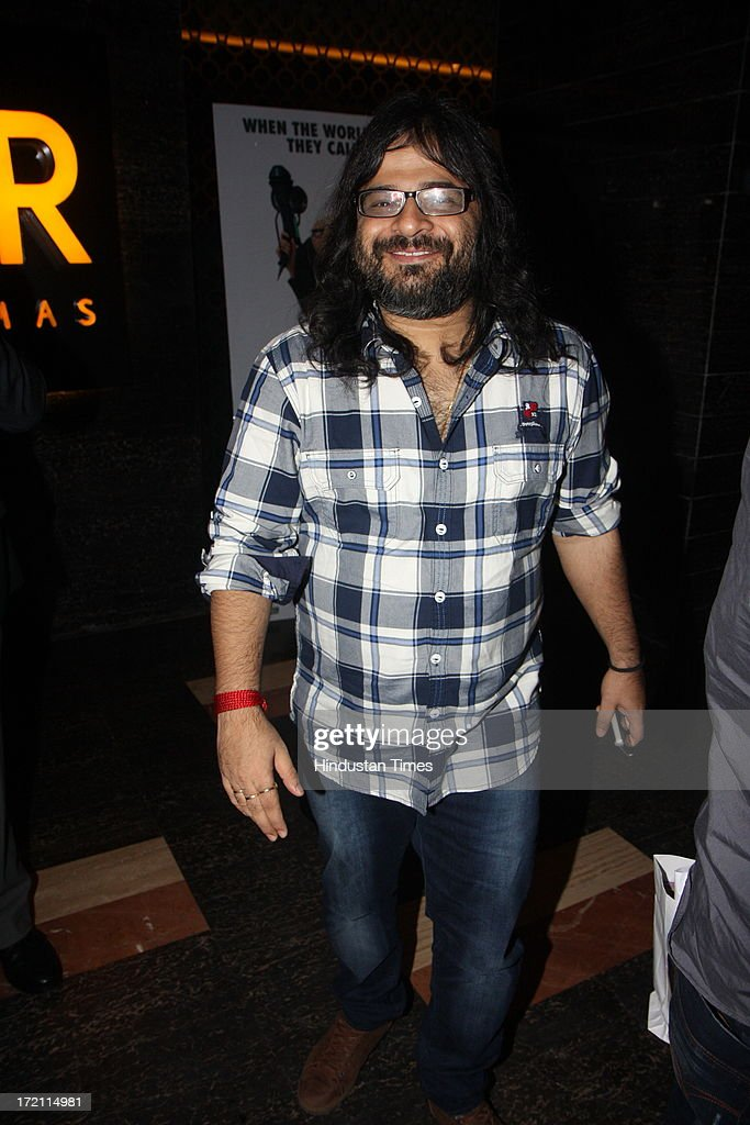 Bollywood music director Pritam Chakraborty during the IIFA 2013 Press Conference at PVR Andheri on July 1, 2013 in Mumbai, India. At a press conference on Monday, July 1, the International Indian Film Academy (IIFA) announced the performances that will be held at their annual weekend awards ceremony in Macau. Boman and Vir will host the IIFA Rocks event, while Shah Rukh Khan and Shahid Kapoor will compere the IIFA awards ceremony.