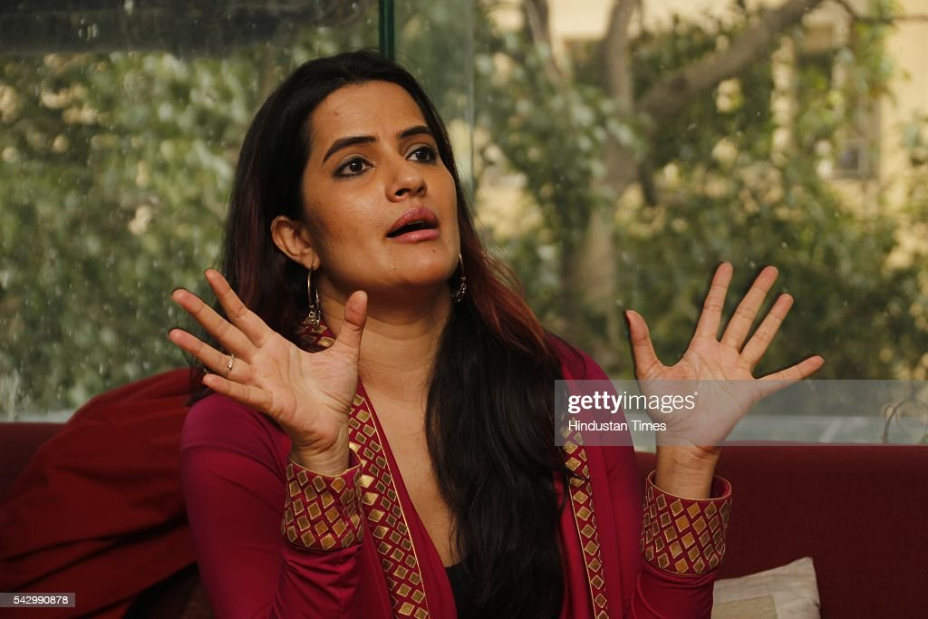 Bollywood singer Sona Mohapatra during an exclusive interview with HT City-Hindustan Times on July 7, 2015 in New Delhi, India.