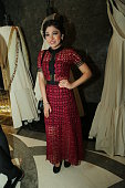 Bollywood singer Tulsi Kumar during the Indian fashion Designer Manish Malhotras show on day 1 of FDCI India Couture Week 2016 at The Taj Palace...