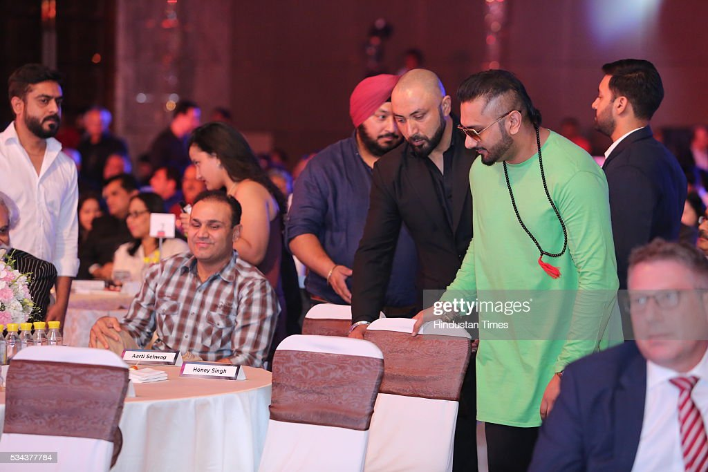 Bollywood singer Yo Yo Honey Singh during a sixth edition of Hindustan Times Most Stylish Awards 2016 at Hotel JW Marriot, Aerocity on May 24, 2016 in New Delhi, India.