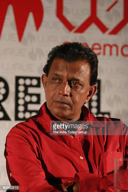 Bollywood star Mithun Chakravorty during his new movie