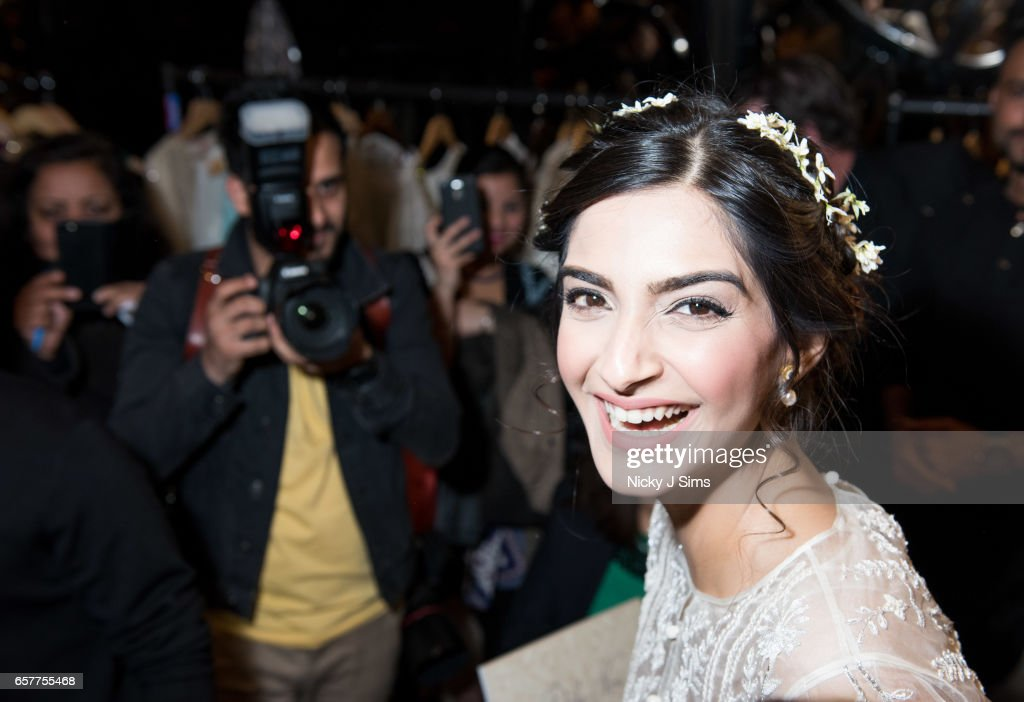 Bollywood Superstar & L'oreal Ambassador Sonam Kapoor Attends Divalicious London