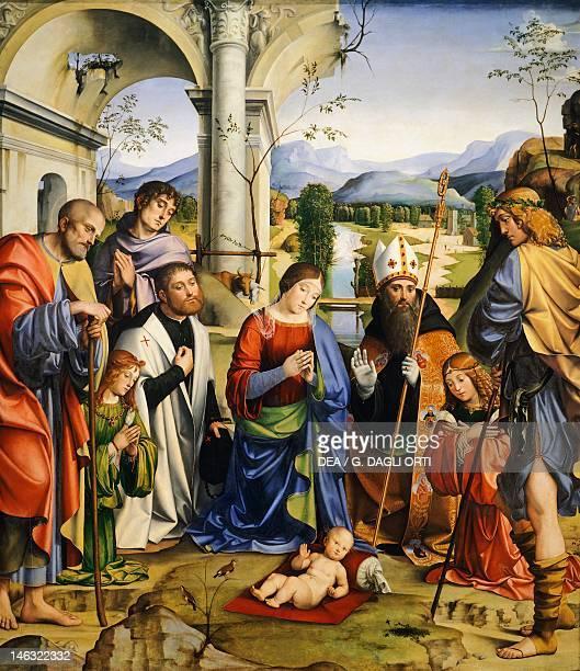 Bologna Pinacoteca Nazionale Di Bologna Bentivoglio Altarpiece by Francesco Francia