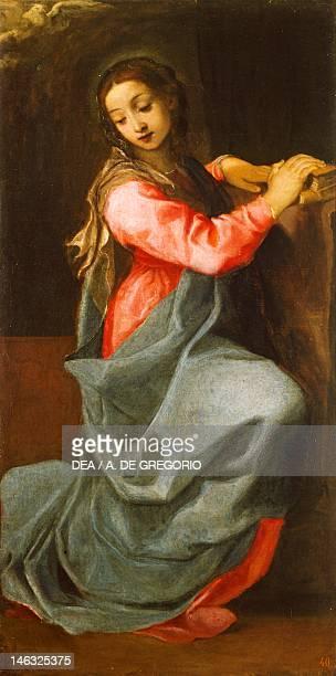 Bologna Pinacoteca Nazionale Di Bologna Lady of the Annunciation by Annibale Carracci oil on canvas 150x76 cm