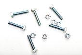 Industrial steel hardware bolt nut screw washer