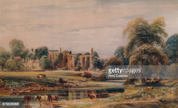 Bolton Abbey and Rectory' From A Catalogue of the Pictures and Drawings in the Collection of Frederick John Nettleford Volume II D to H by C Reginald...
