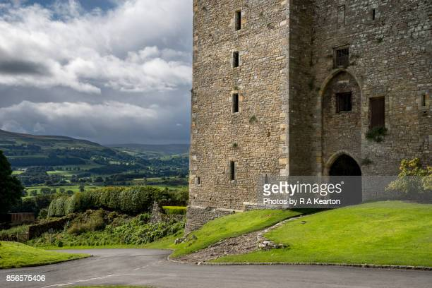 Bolton castle in Wensleydale, North Yorkshire, England