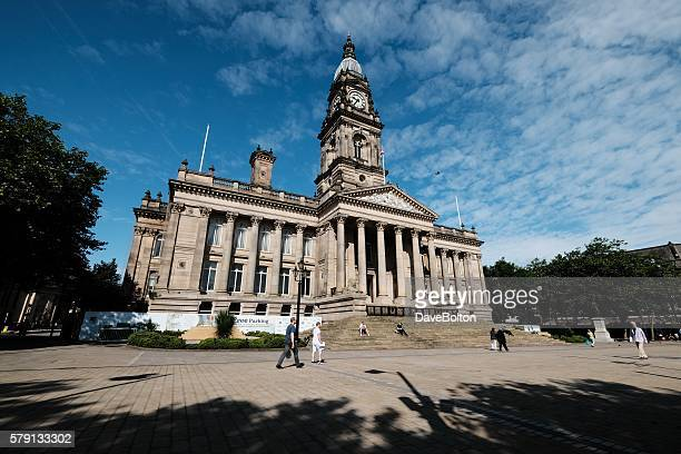 Bolton Town Hall and Civic Square