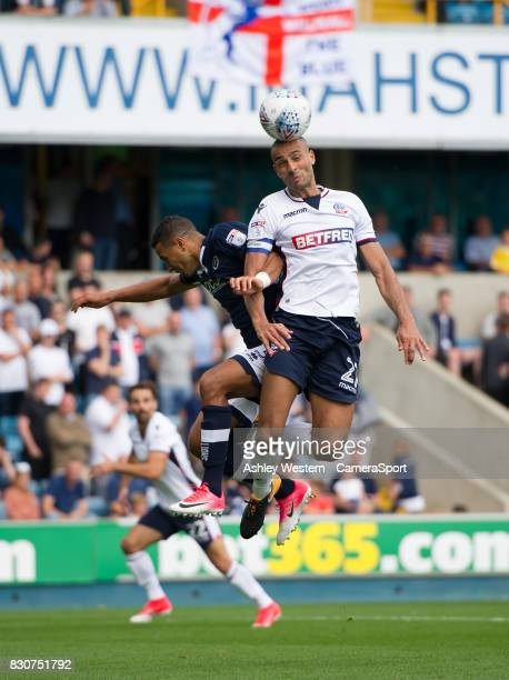 Bolton Wanderers' Darren Pratley in action during the Sky Bet Championship match between Millwall and Bolton Wanderers at The Den on August 12 2017...