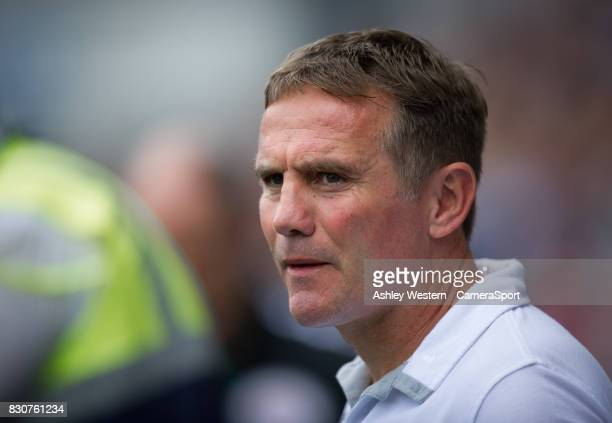 Bolton Wanderers manager Phil Parkinson before the game during the Sky Bet Championship match between Millwall and Bolton Wanderers at The Den on...