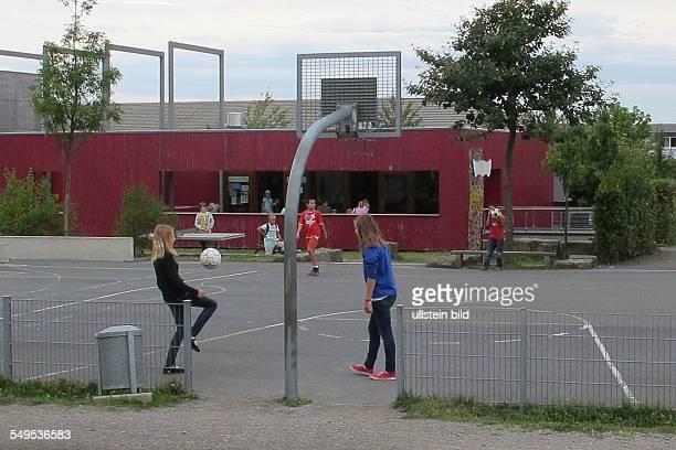 Bolzplatz für Kinder auf dem Kronsberg in Hannover