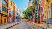 Famous street from recife/Brazil