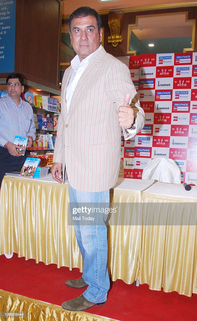 Boman Irani at the DVD launch of the film Well Done Abba in Mumbai on May 19, 2010.