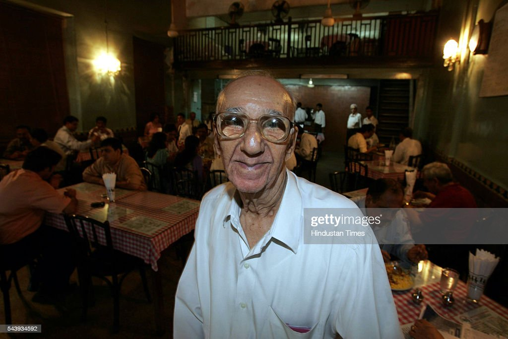 Boman Kohinoor, owner of Cafe Britania, Ballard Estate.