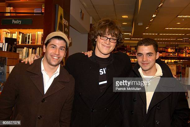 Boman Modine and attend Matthew Modine Book Signing for FULL METAL JACKET DIARY at Barnes Noble Book Store on January 4 2006 in New York City