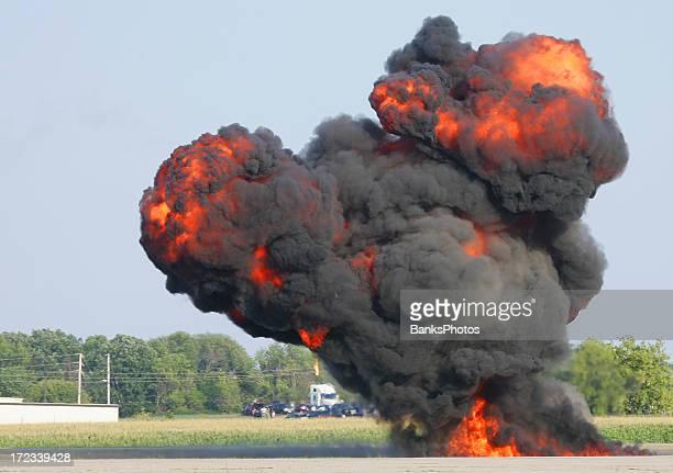 Bomb Blast Up In Smoke on Road