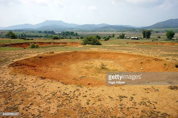 Bomb Craters, Phonsavan, Laos