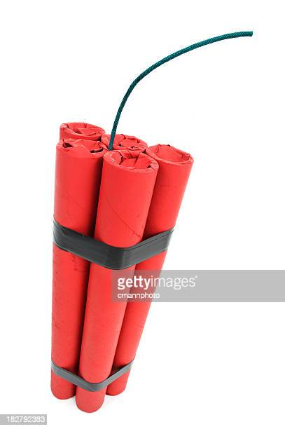 Bomb - Five Sticks of Red Dynamite with fuse