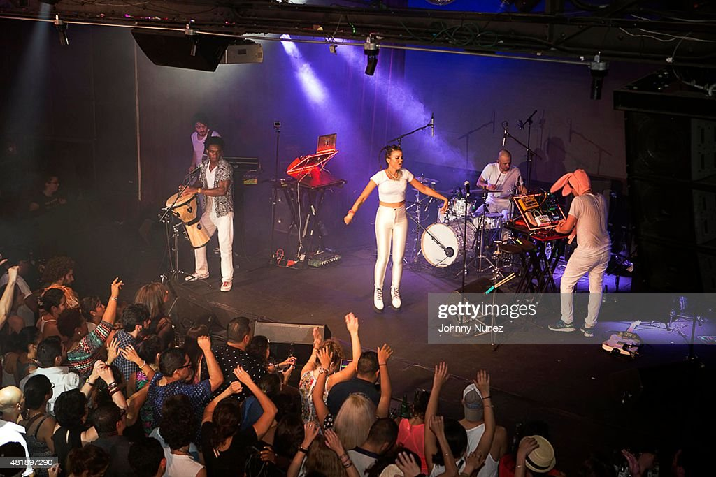 <a gi-track='captionPersonalityLinkClicked' href=/galleries/search?phrase=Bomba+Estereo&family=editorial&specificpeople=5970048 ng-click='$event.stopPropagation()'>Bomba Estereo</a> performs at Highline Ballroom on July 24, 2015, in New York City.
