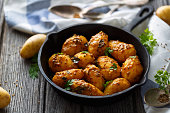 Bombay potatoes, indian food