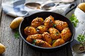 Bombay potatoes, indian food