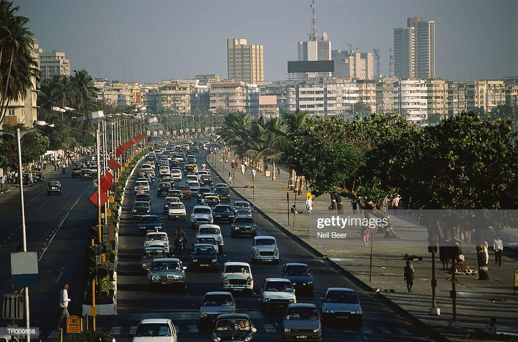 Bombay Traffic : Stock Photo