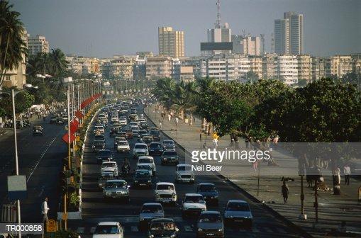 Bombay Traffic : Bildbanksbilder