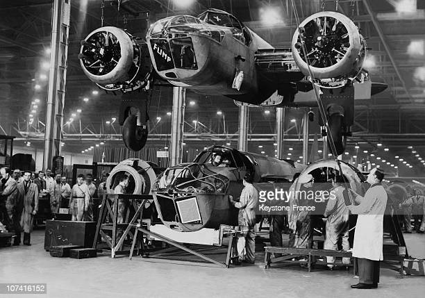 Bombers Mass Production In England