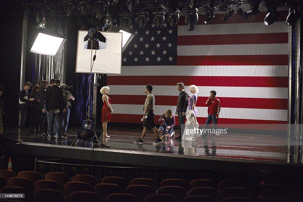 SMASH 'Bombshell' Episode 115 Pictured Megan Hilty as Ivy Lynn Jack Davenport as Derek Wills Kathsrine McPhee as Karen Cartwright