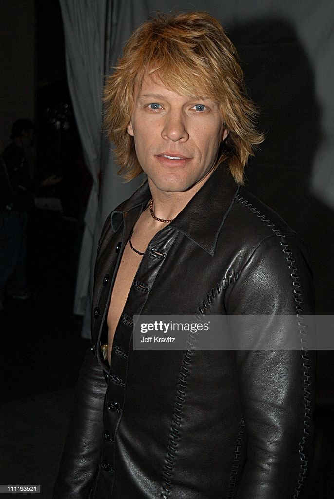 <a gi-track='captionPersonalityLinkClicked' href=/galleries/search?phrase=Bon+Jovi+-+Band&family=editorial&specificpeople=579991 ng-click='$event.stopPropagation()'>Bon Jovi</a> during VH1 Big in 2002 Awards - Backstage and Audience at Grand Olympic Auditorium in Los Angeles, CA, United States.