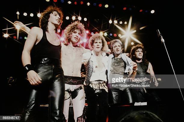 Bon Jovi live at Nakano Sun Plaza Hall Tokyo April 20 1985