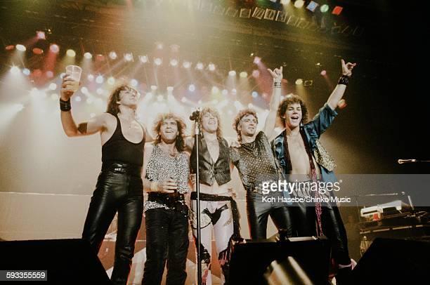 Bon Jovi live at Nakano Sun Plaza Tokyo April 20 1985