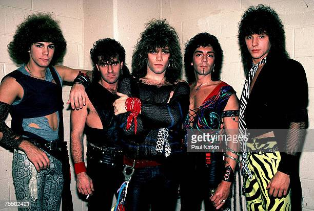 Bon Jovi on 5/20/84 in ChicagoIl in Various Locations