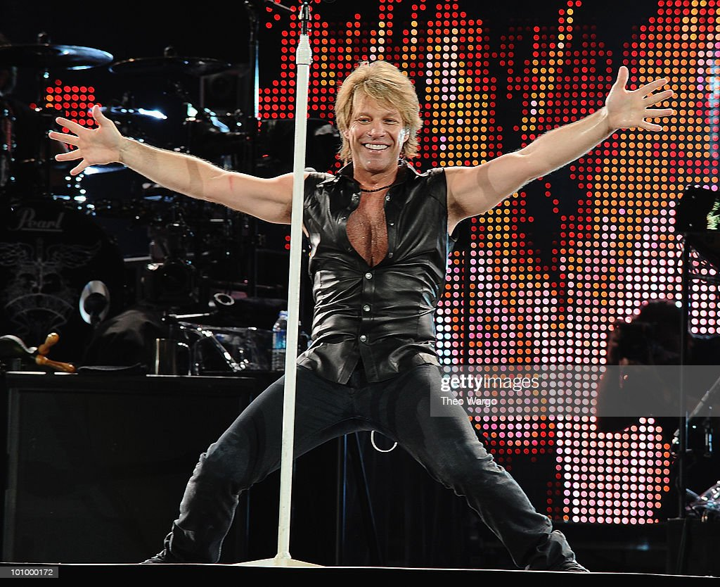 Bon Jovi performs at New Meadowlands Stadium on May 26 2010 in East Rutherford New Jersey
