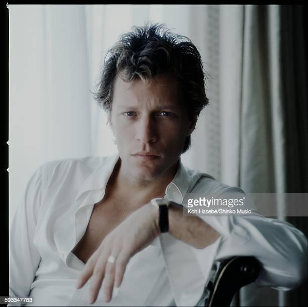 Bon Jovi studio photo session in Tokyo April 1985