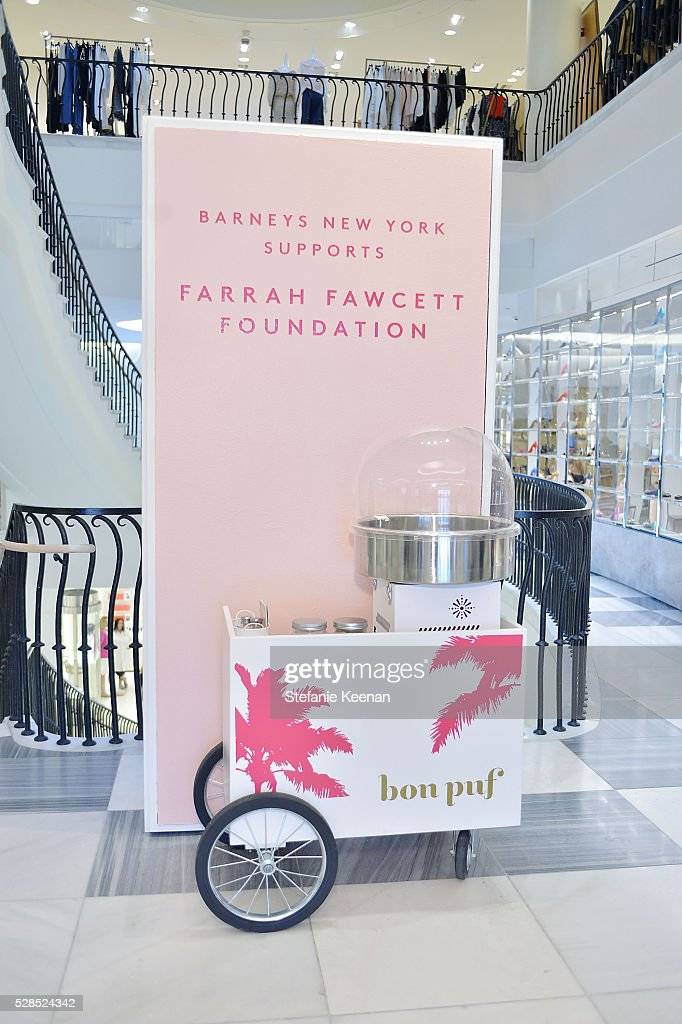 Bon Puf Cotton Candy at Barneys New York Hosts A Cocktail Party In Support Of The Farrah Fawcett Foundation at Barneys New York Beverly Hills on May 5, 2016 in Beverly Hills, California.