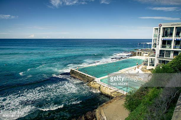 Bondi Beach Iceberg Swimming Pool in Sydney Australia
