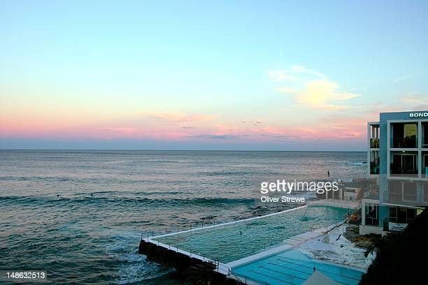 Bondi Icebergs Pool and restaurant.