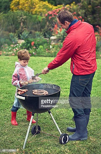 Verschweißung vom barbecue