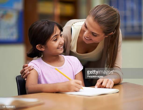 Freundschaftliche Verbundenheit mit ihren Schülern