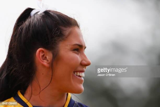 Bond's Charlotte Caslick during the Women's University Sevens match between Bond University and UQ on September 17 2017 in Brisbane Australia