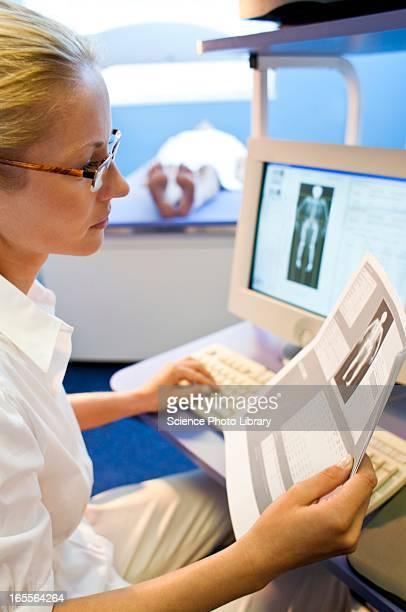 Bone density scan