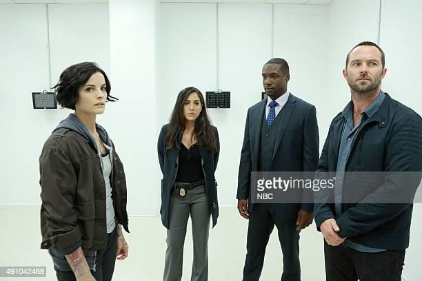 BLINDSPOT 'Bone May Rot' Episode 104 Pictured Jaimie Alexander as Jane Doe Audrey Esparza as Tasha Zapata Rob Brown as Edgar Reed Sullivan Stapleton...