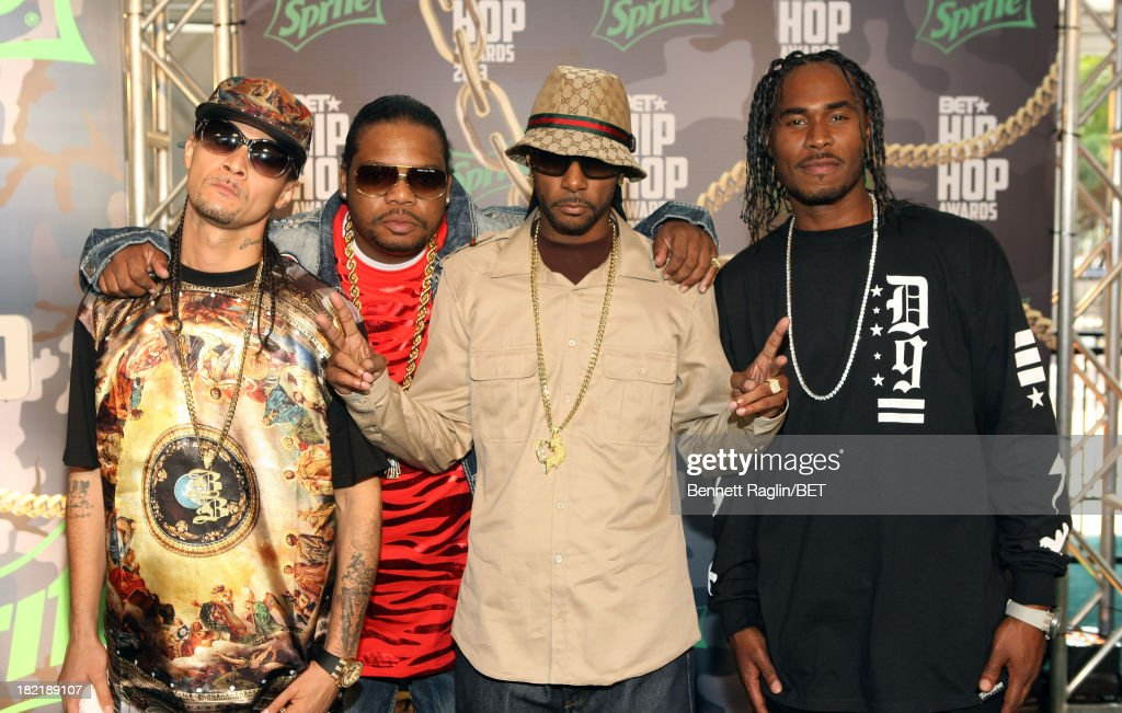 Bone Thugs-N-Harmony attend the BET Hip Hop Awards 2013 at Boisfeuillet Jones Atlanta Civic Center on September 28, 2013 in Atlanta, Georgia.
