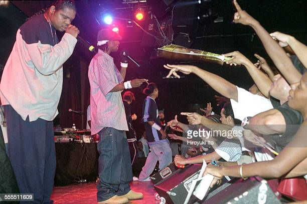 Bone ThugsnHarmony performing at BB King Blues Club Grill on Tuesday night September 17 2002This imageWish Bone left and Krayzie Bone