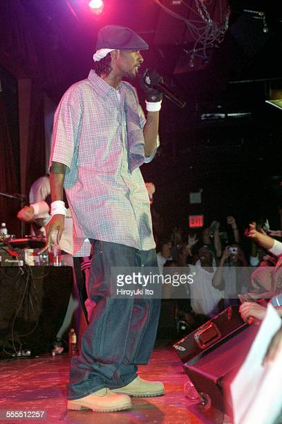 Bone ThugsnHarmony performing at BB King Blues Club Grill on Tuesday night September 17 2002This imageKrayzie Bone
