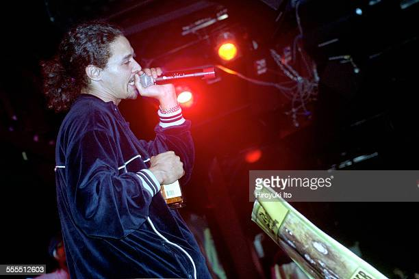 Bone ThugsnHarmony performing at BB King Blues Club Grill on Tuesday night September 17 2002This imageBizzy Bone